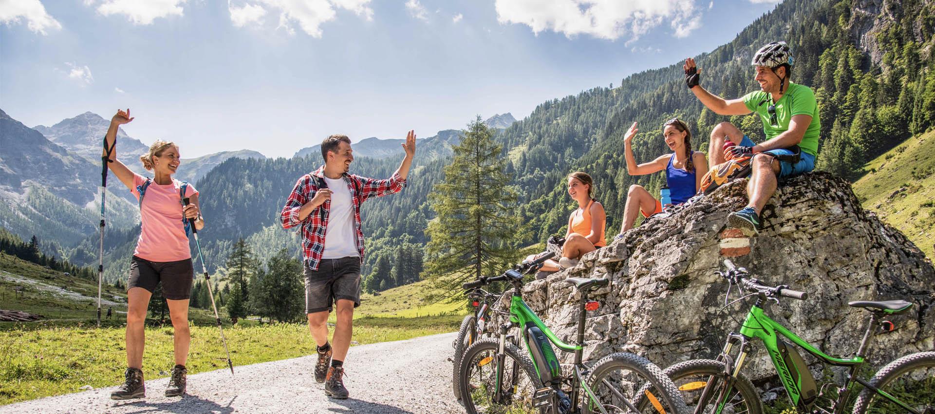 Sommerurlaub in Flachau - Appartements Buchsteiner